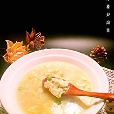 虾仁芹菜豆腐羹
