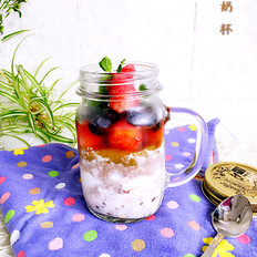 燕麦酸奶杯