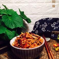 扁豆香菇焖饭