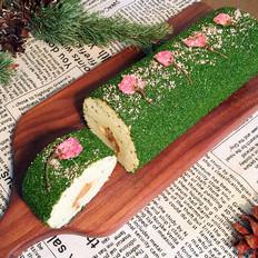樱花海苔肉松蛋糕卷