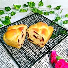 豆沙红薯面包
