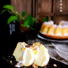 棉花糖戚风蛋糕