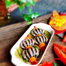 年夜饭硬菜之灯笼茄子(蒸)
