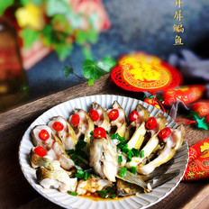 年夜饭硬菜之开屏鱼