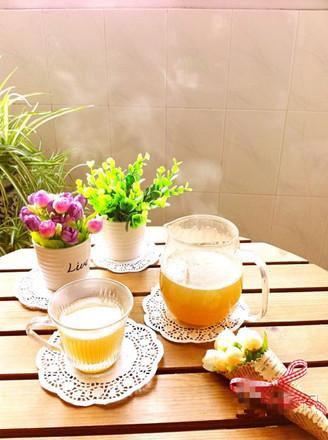 鲜石斛蜂蜜热饮的做法