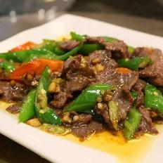 合肥培训尖椒炒牛肉