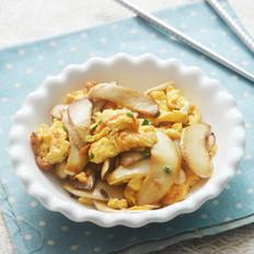干煎鸡蛋杏鲍菇