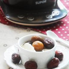 桂圆红枣炖年糕
