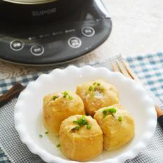 豆腐泡酿三鲜