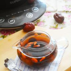 桂圆枸杞红枣茶