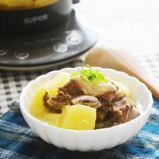 土豆炖牛小排