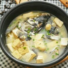 蘑菇豆腐鱼头汤