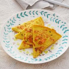 鲜虾鸡蛋煎饼