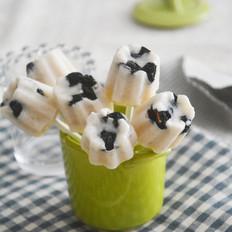 香蕉酸奶小冰棍
