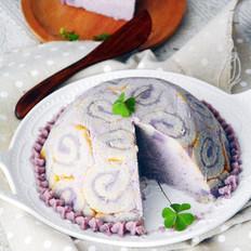 紫薯焦糖夏洛蒂