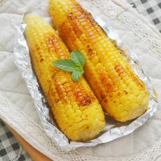 奶香蜂蜜烤玉米