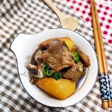 蒜香土豆蒸排骨