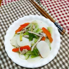 白菜炒年糕