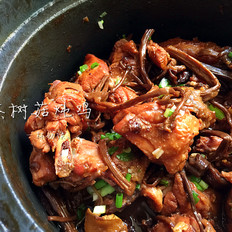 茶树菇炖鸡