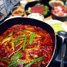 红油火锅汤