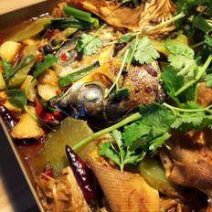 香辣豆豉烤鱼