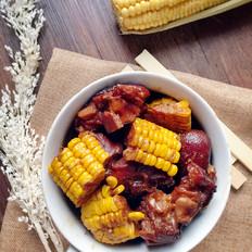 玉米焖猪手
