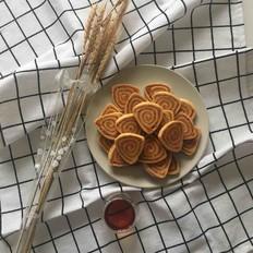 咸蛋黄肉松饼干