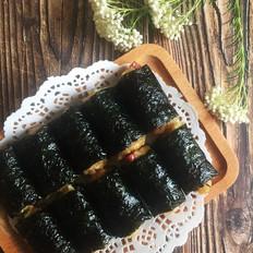 糯米香肠海苔卷