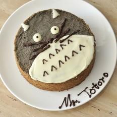 Totoro龙猫 黑芝麻戚风