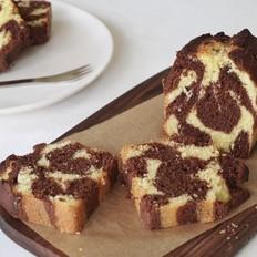 长颈鹿花纹 磅蛋糕