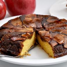 黑糖苹果翻转蛋糕