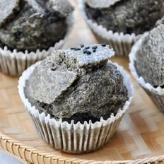 【视频】黑芝麻米糕~5分钟快手早餐