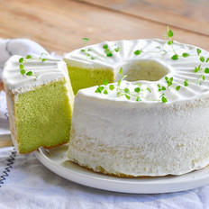 绿蛋糕~香兰戚风蛋糕