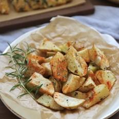 风味烤薯角的做法