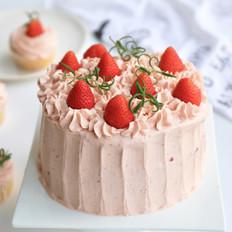 视频 草莓奶油蛋糕的做法