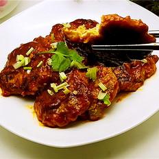 茄汁西葫芦鸡肉饼