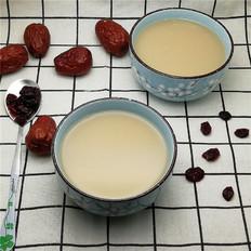 红枣蔓越莓豆浆