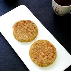 红薯绿豆沙糯米饼