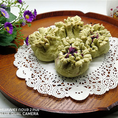 抹茶紫薯富贵酥