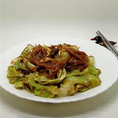 蒜香粉丝圆白菜