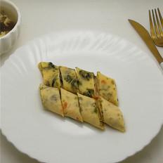 鱼籽海苔卷饼