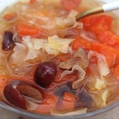 木瓜红枣银耳汤