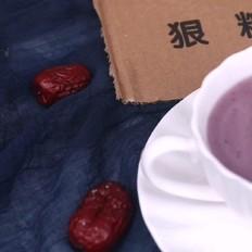 紫薯胚芽米糊
