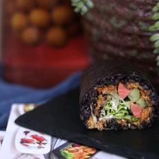 海苔黑米包饭