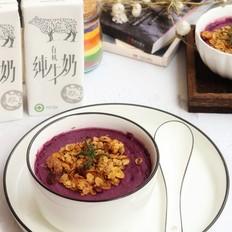 紫薯蛋奶羹