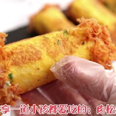 香葱吐司卷