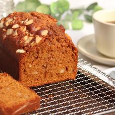 咖啡焦糖磅蛋糕!无黄油版,不打发