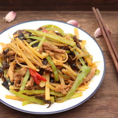 魚香土豆肉絲