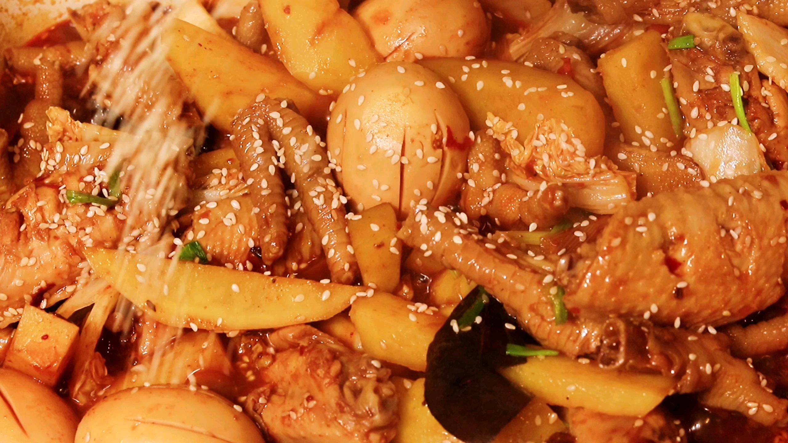 韩式三鸡火锅