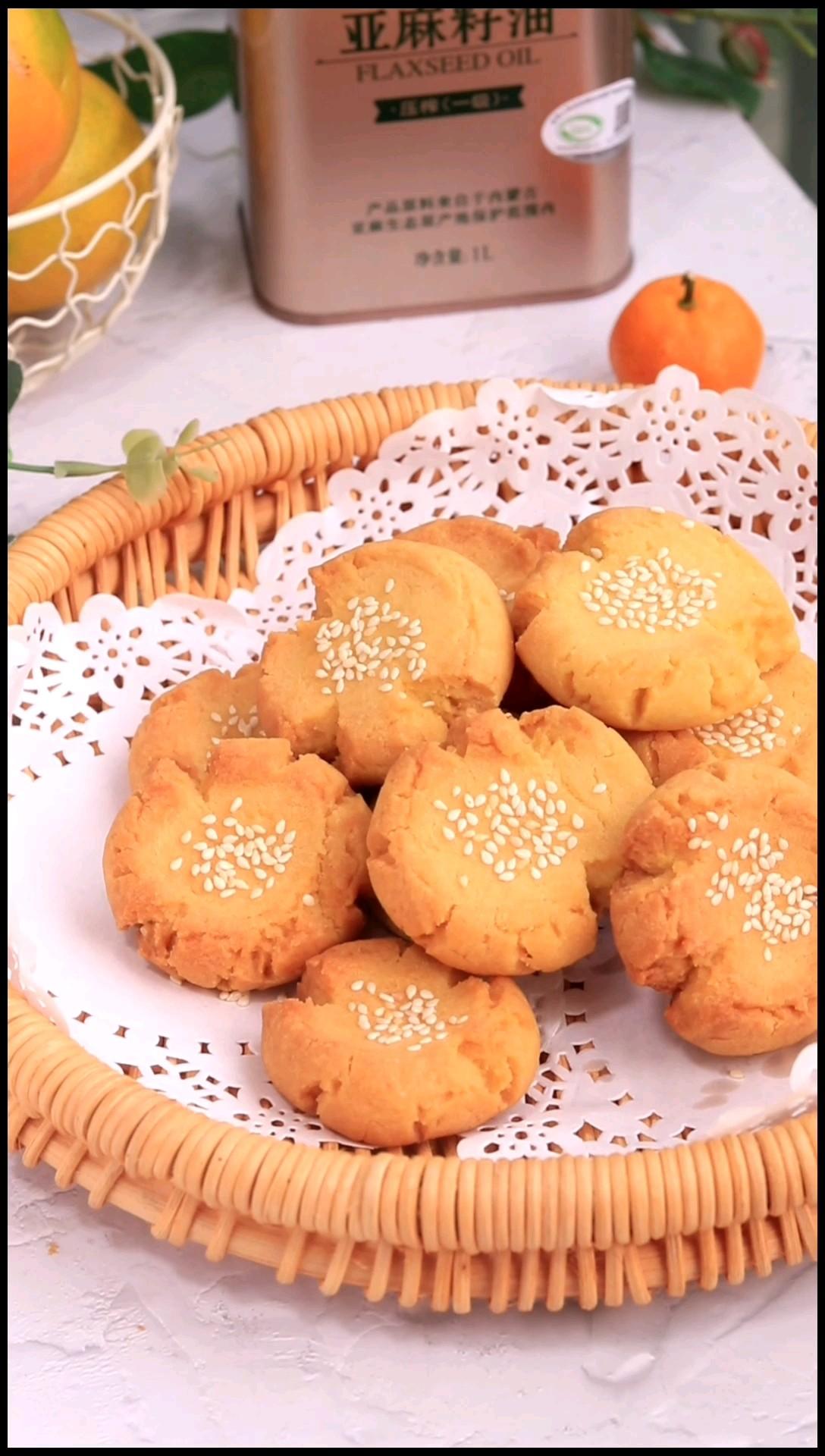 亚麻籽桃酥